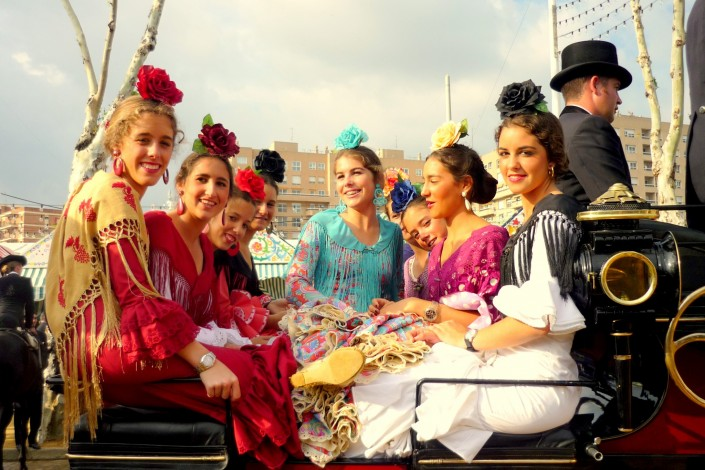 How to take the best pictures during Seville April Fair