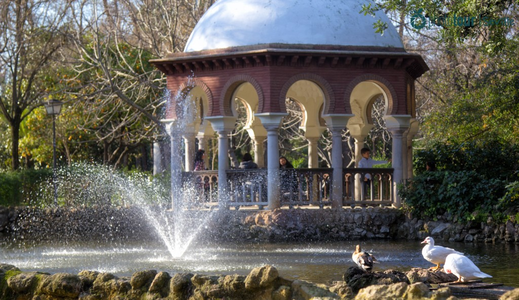 Glorieta de los Patos - Romantic places in Seville