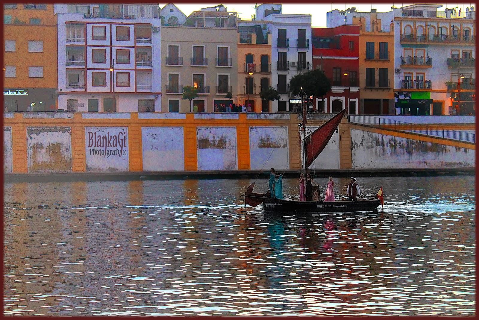 Boat ride through Guadalquivir