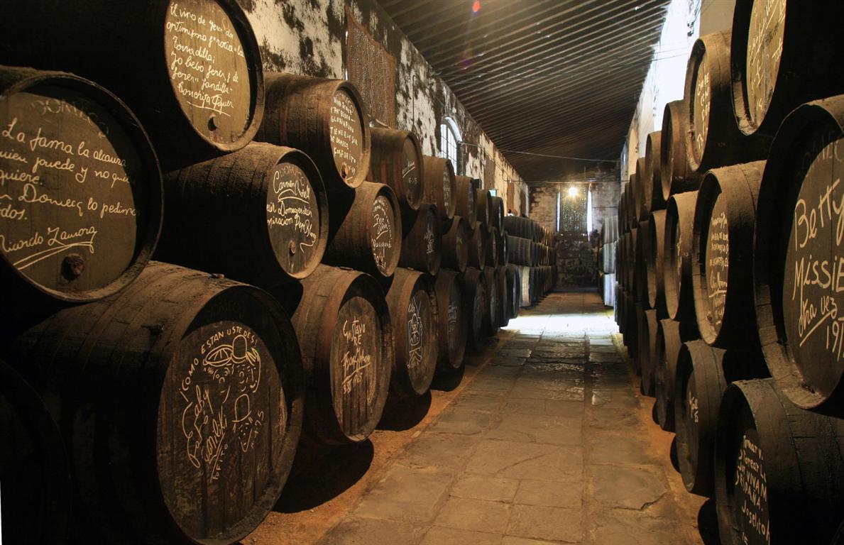 Jerez wineries