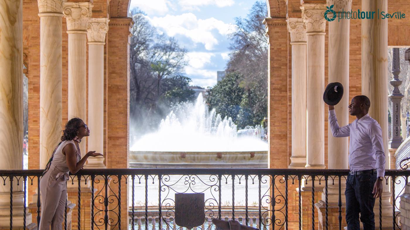 Arches of Plaza España