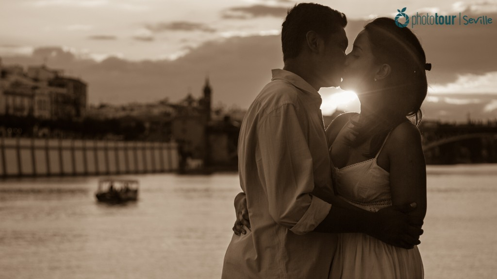 Sunset at Triana - Romantic places in Seville