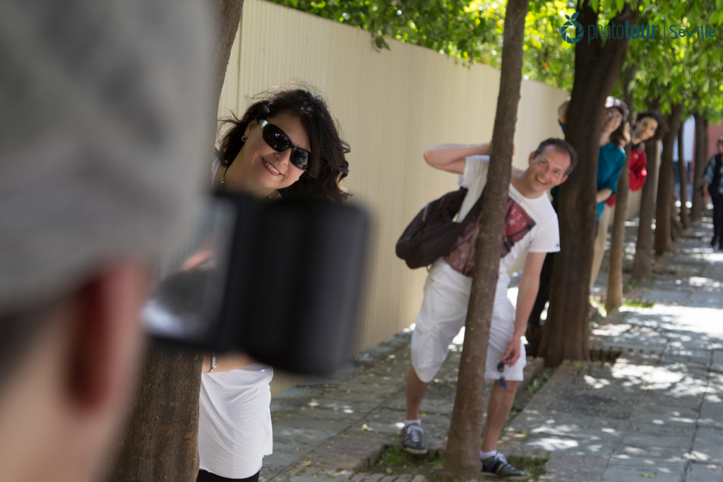 Photographer in Seville