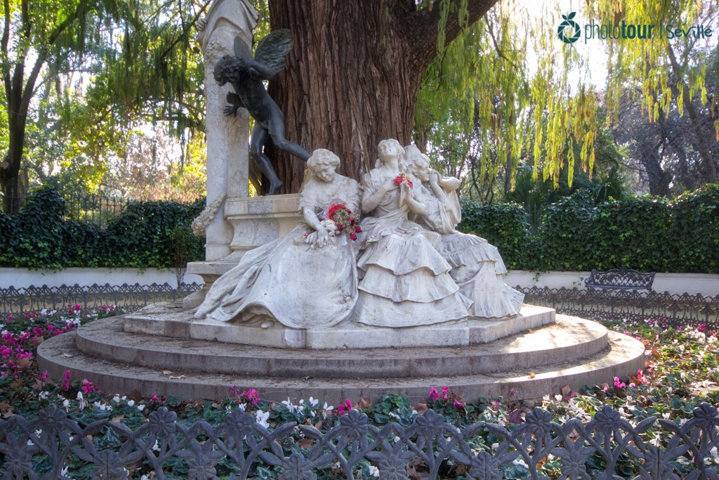Glorieta de Bécquer - Romantic places in Seville