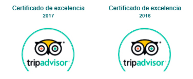 Tripadvisor - Certificado de Excelencia
